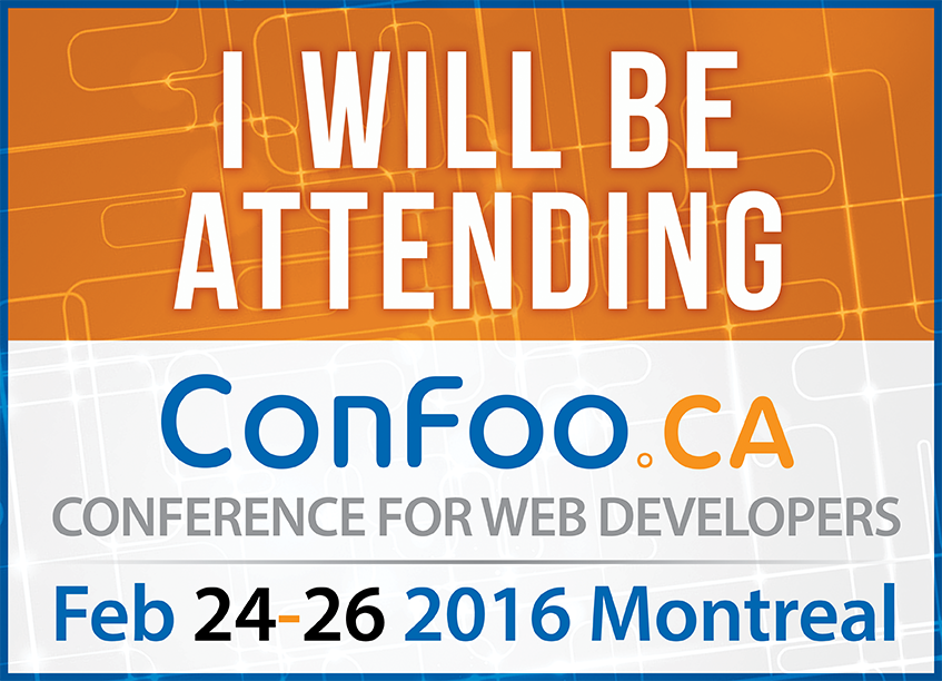 ConFoo | Feb 24 - Feb 26 | Montreal, Canada