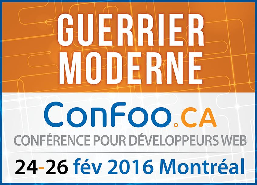 ConFoo. 24 février - 26 février 2016 | Montreal, Canada