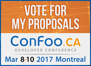 ConFoo | March 8-10, 2017 | Montreal, Canada