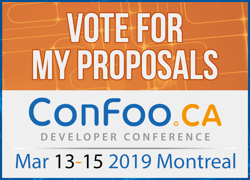 ConFoo | March 13-15, 2019 | Montreal, Canada