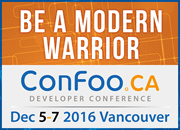 ConFoo Vancouver: December 5th-7th 2016